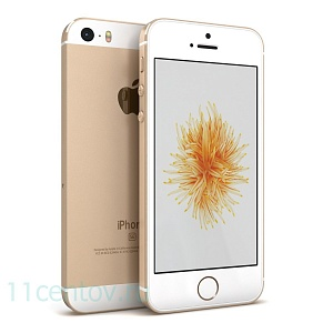Смартфон Apple iPhone SE 32Gb Gold (золотистый) (MP842RU/A) A1723
