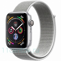 Часы Apple Watch Series 4 44mm (MU6C2) Silver Aluminum Case with Seashell Sport Loop