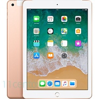 Планшет Apple iPad 9.7 (2018) 128Gb (MRM22RU/A) Wi-Fi+Cellular Gold