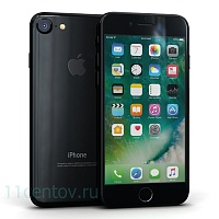 Смартфон Apple iPhone 7 128Gb Jet Black (черный оникс) A1778