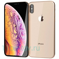 Смартфон Apple iPhone Xs Max 256Gb золотой (MT552RU/A)