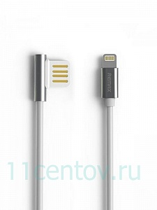 Кабель USB-Lightning Remax Emperor RC-054i для Apple iPhone серебристый