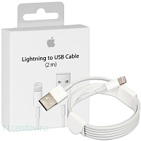 Кабель Apple Lightning to USB 2 m белого цвета