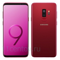 Смартфон Samsung Galaxy S9 Plus G965FD/RU 64Gb Бургунди