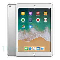 Планшет Apple iPad 9.7 (2018) 128Gb Wi-Fi Silver