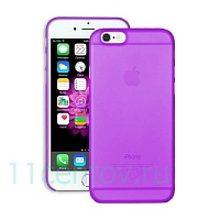 Чехол Ozaki O!coat 0.3 Jelly Purple для Apple iPhone 6/6s