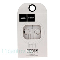 Наушники HOCO M1 original series earphone for Apple (Белые)