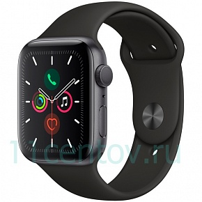 Apple Watch S5 44mm (MWVF2RU/A) Space Grey, Sport Band