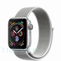 Часы Apple Watch Series 4 40mm (MU652RU/A) Silver Aluminum Case with Seashell Sport Loop