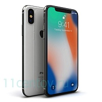 Смартфон Apple iPhone X 64Gb Silver (серебристый)