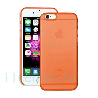 Чехол Ozaki O!coat 0.3 Jelly Orange для Apple iPhone 6/6s