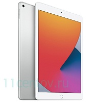 Apple iPad (2020) 32Gb Wi-Fi Silver (MYLA2RU/A)