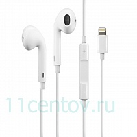 Оригинальные наушники Apple EarPods with Lightning Connector (MMTN2)